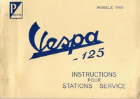 VESPA N Instructions pour Stations Service